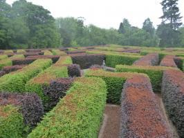 Labyrint beim Schloß