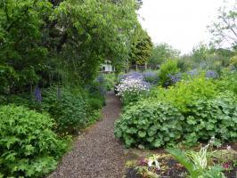 Garten in Findhorn